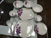 Aaico refresh 32 pcs melamine dinner set