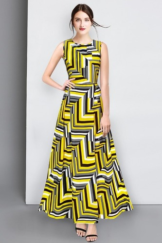 Polo Yellow Gown
