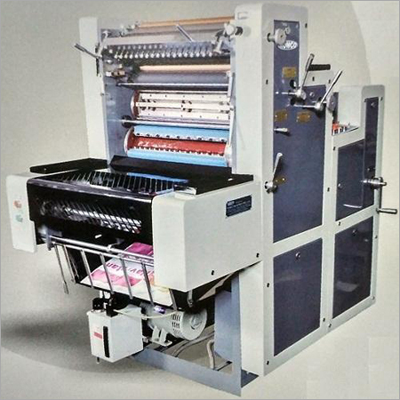 Single Colour Sheet Fed Offset Printing Machine