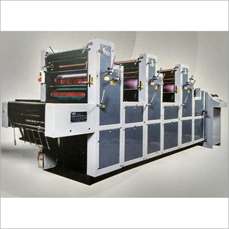 Three Colour Sheetfed Offset Printing Machine