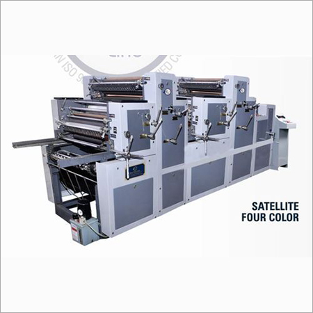 Satellite Four Color Sheet Fed Offset Printing Machine