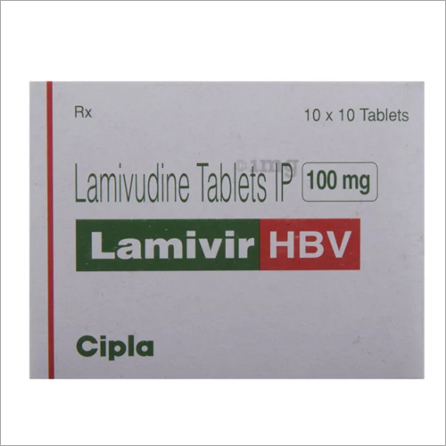 100 Mg Lamivudine Tablets IP