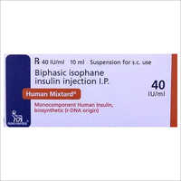Biphasic Isophane Insulin Injection IP
