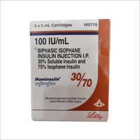 30/70 Biphasic Isophane Insulin Injection IP