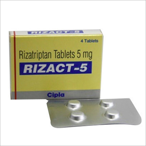 5 Mg Rizatriptan Tablets