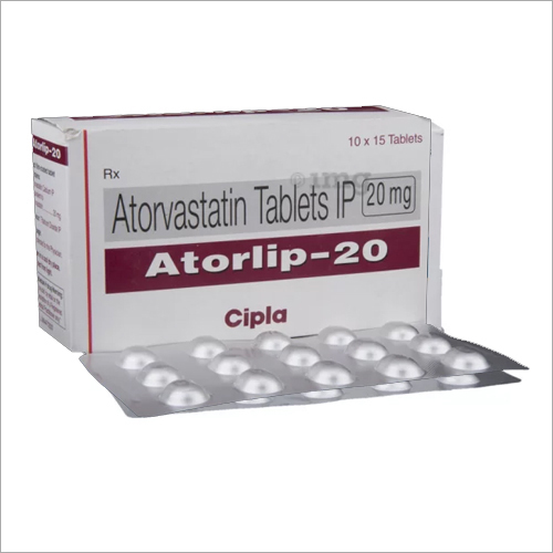 20 Mg Atorvastatin Tablets IP