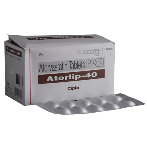40 Mg Astorvastatin Tablets IP