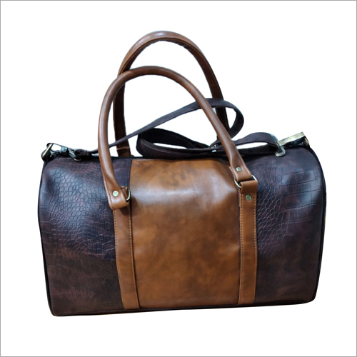 PU Leather Duffel Bag