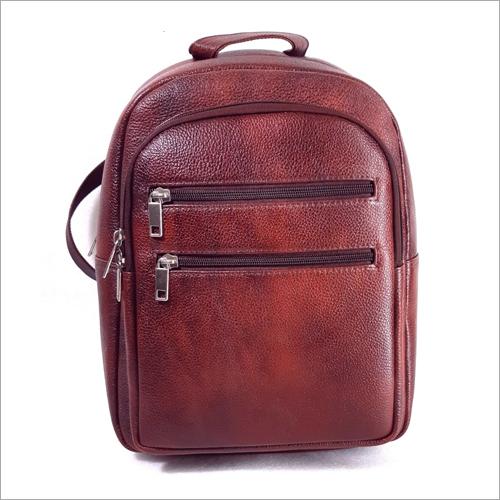 Girls Leather Backpack Bag