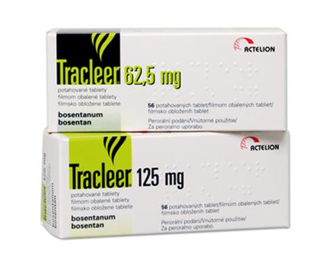 Tracleer Tablets Bosentan