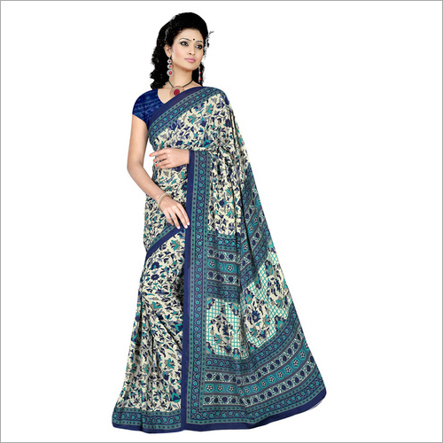 Crepe Casual Printed Saree