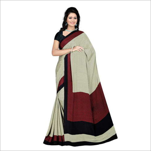 Ladies Crepe Fancy Saree