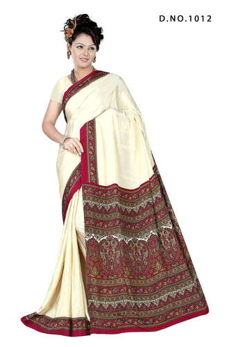 Fancy Crepe Saree