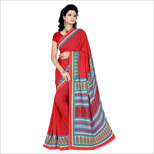 Office Printed Saree