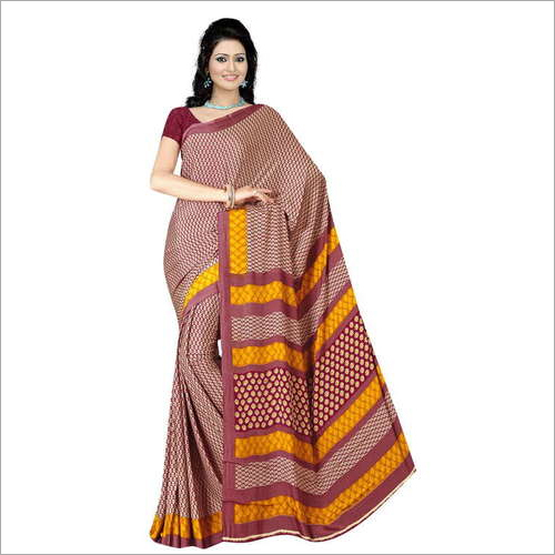 Ladies Office Uniform Saree