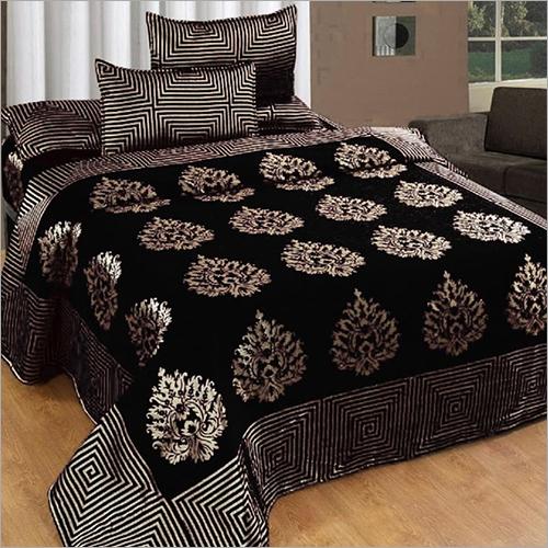 Velvet Chenille Bed Cover