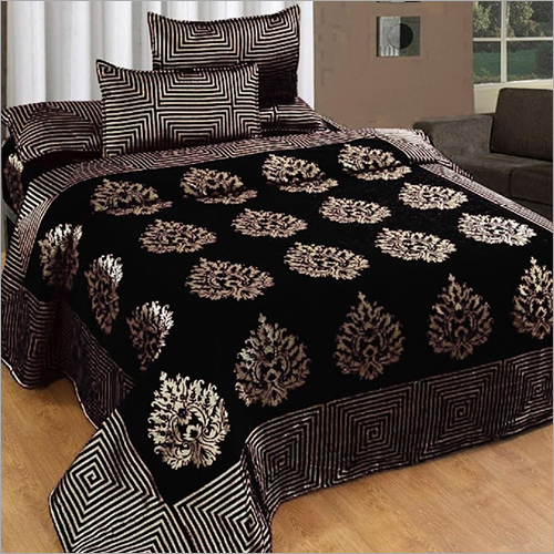 Velvet Chenille Bed Cover