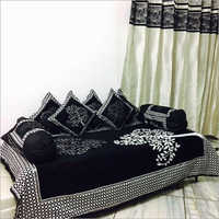 Chenille Diwan Bed Cover