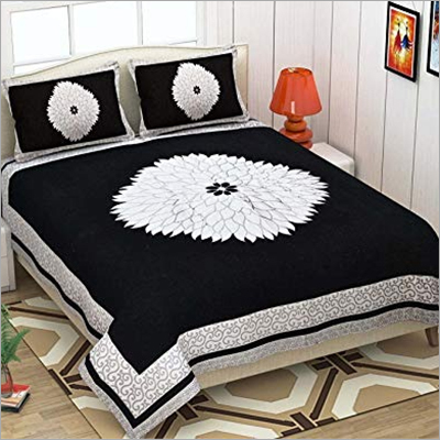 Black Chenille Bed Sheet
