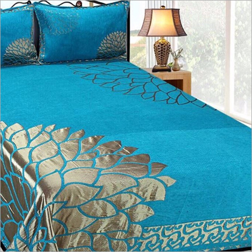 Chenille Printed Bedsheet