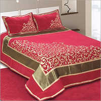 Velvet Double Bed Sheet