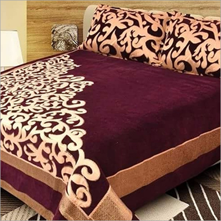 Chenille Designer Bed Cover