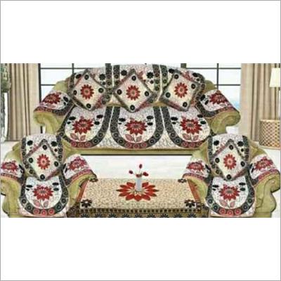 Designer Velvet Sofa Cover