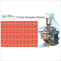 10 Track Pouch Packaging Machine