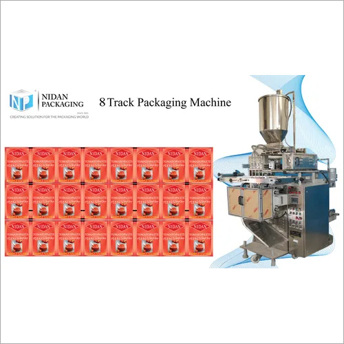 8 Track Pouch Packaging Machine