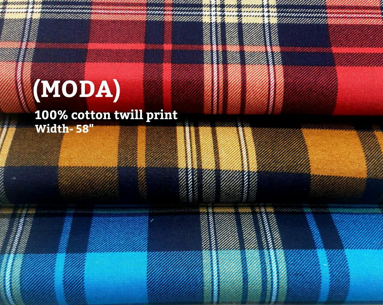 MODA 100% cotton twill print