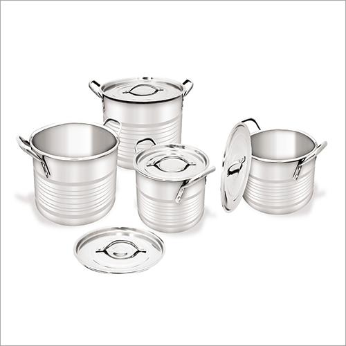 Silver Touch Regular Stock Pot Set