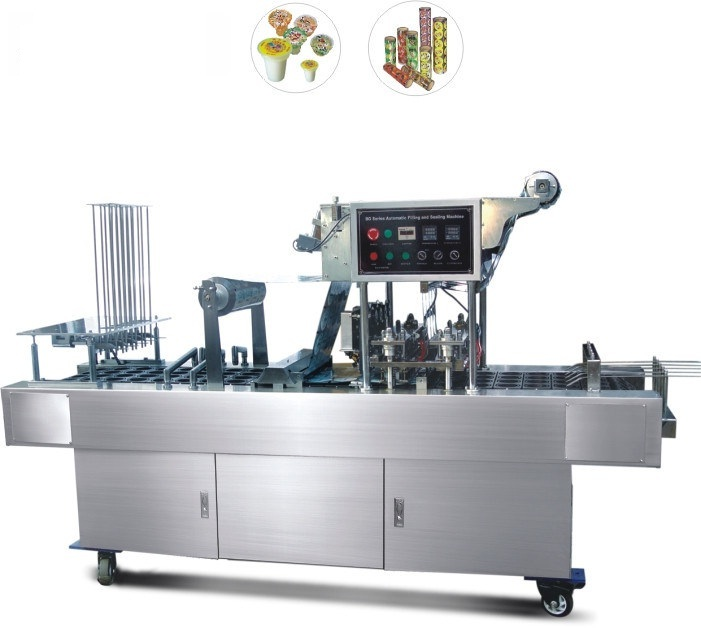 Yogurt Cup Filling And Sealing Machine BG-32