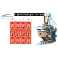 4 Track Pouch Packaging Machine