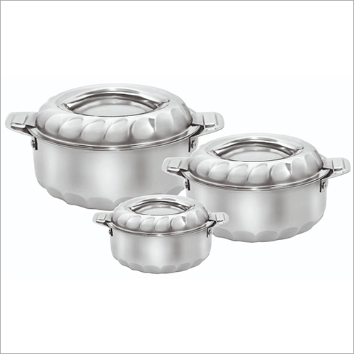 SS Casserole Hot Pot Set