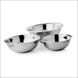 Deep Footed SS Bowl Set