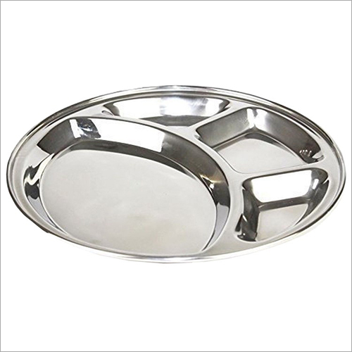 SS Round Mess Tray