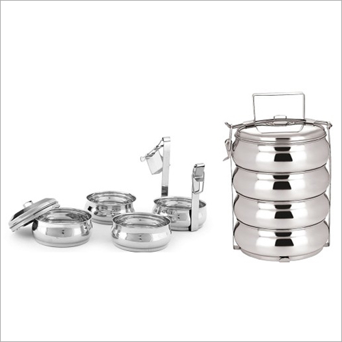 SS Belly Tiffin Set