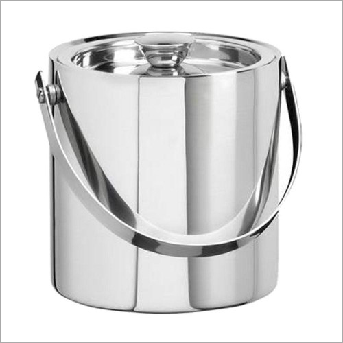 Double Wall SS Ice Bucket
