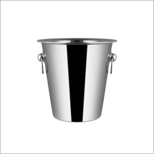 SS Champagne Bucket With Handle