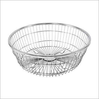 Stainless Steel Round Basket
