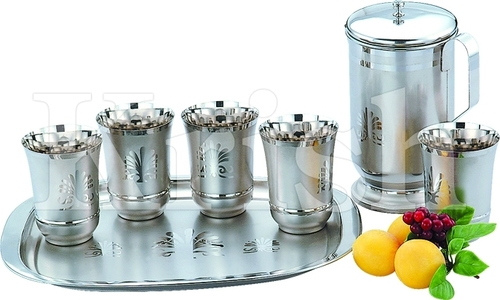 Plam Tree Lemon Set - 8 Pcs Tumbler