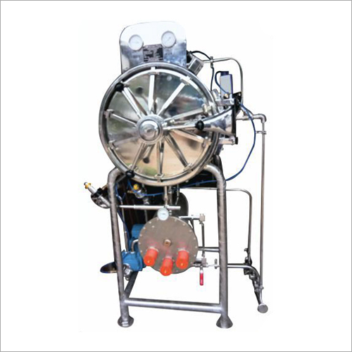 Cylindrical Horizontal Sterilizer