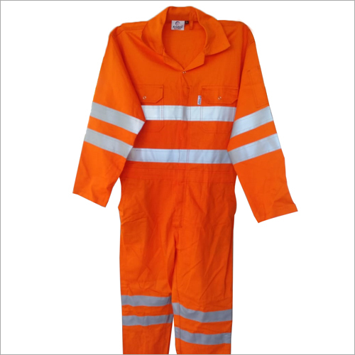 Boiler Suit With Double Taping