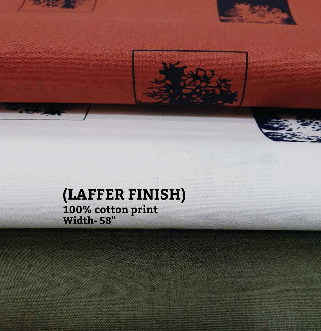 Laffer Finish Cotton Print