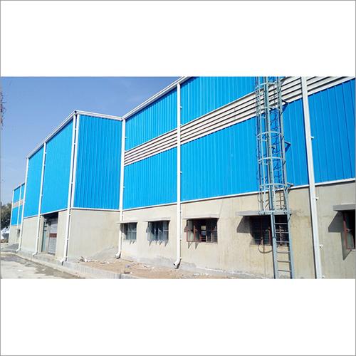 Pop Warehouse Industrial Construction Work