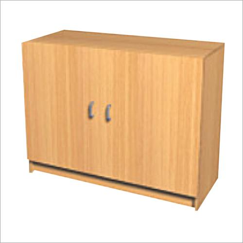 Double Door Wooden Cabinet