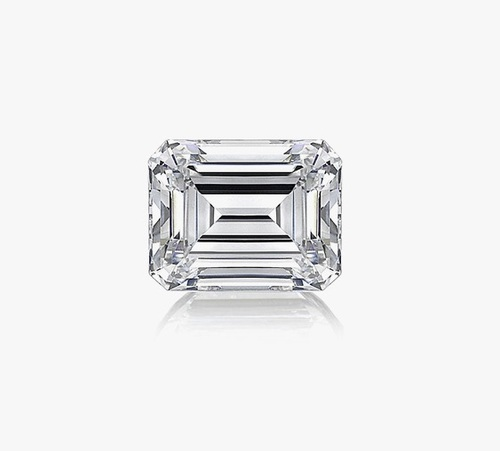 Emerald Diamond 3.80ct F VS1 Shape IGI Certified CVD TYPE2A