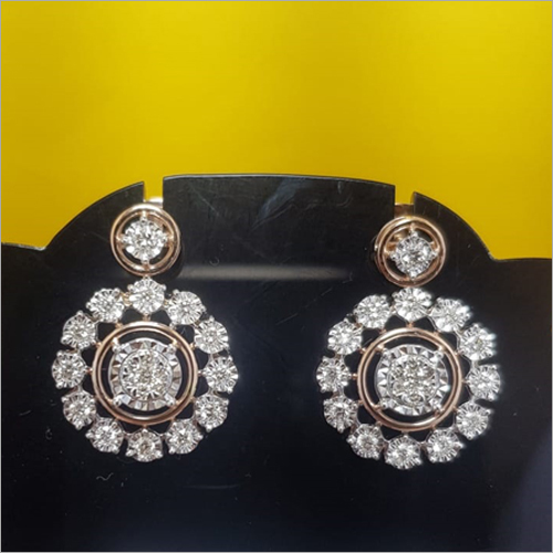 Ladies Fancy Diamond Earring