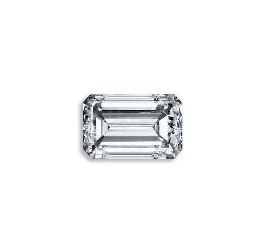 Emerald Diamond 3.27ct F VS1 Shape IGI Certified CVD TYPE2A