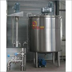 SS Tank With Stirrer